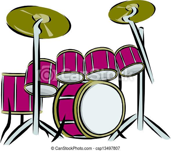 セット, ドラム - csp13497807