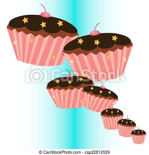 セット, cupcake - csp22812029