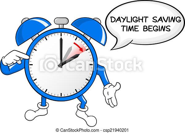 セービング, 時計, 警報, 日光, 時間, 変化しなさい - csp21940201