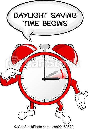 セービング, 時計, 警報, 日光, 時間, 変化しなさい - csp22183679