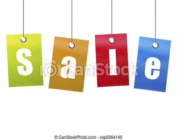 セール, 掛かること - csp5564140