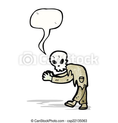 ゾンビ, 漫画 - csp22135063