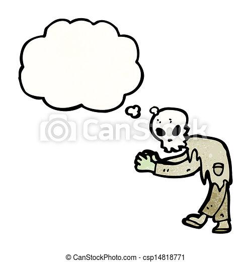 ゾンビ, 漫画 - csp14818771