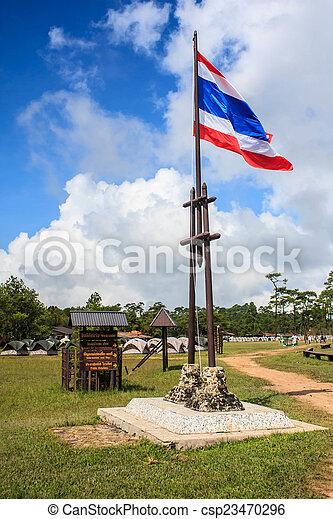 タイの旗 - csp23470296