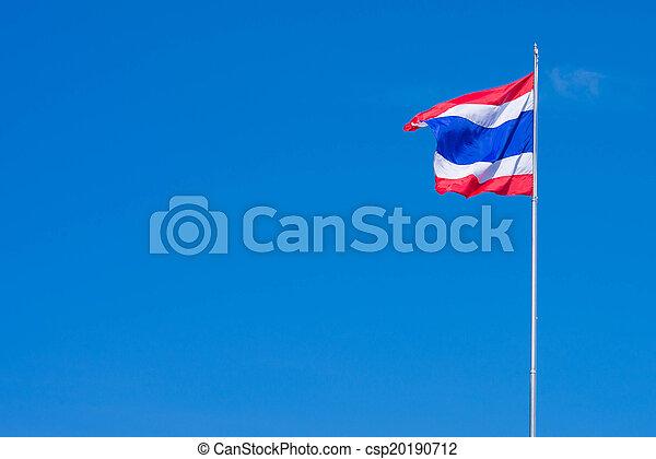 タイの旗 - csp20190712