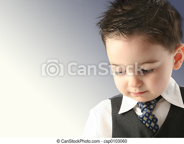 タイ, 子供, スーツ, 男の子 - csp0103060