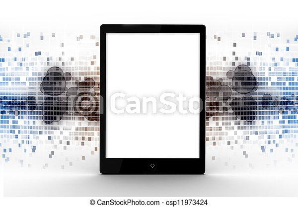 タブレット, デジタル - csp11973424