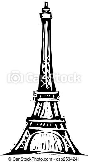タワー, エッフェル - csp2534241