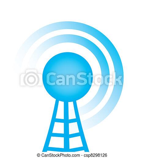 タワー, ラジオ - csp8298126