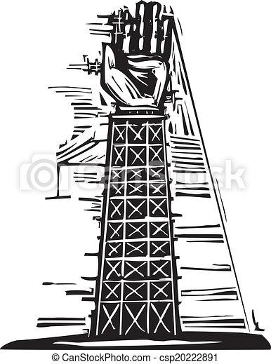 タワー, 手 - csp20222891