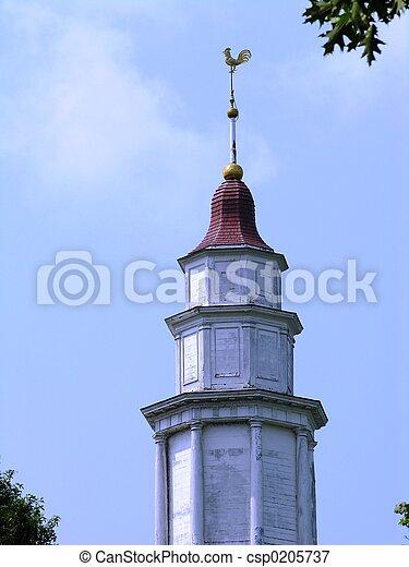 タワー, 教会 - csp0205737