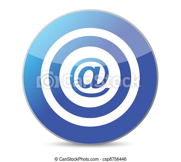 ターゲット, 中心点, インターネット - csp8756446