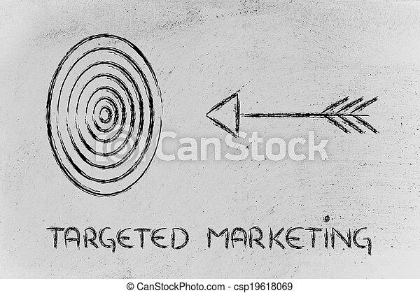 ターゲット, 権利, リーチ, business:, あなたの, 市場, 定義しなさい - csp19618069