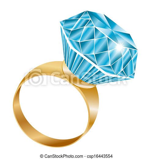 ダイヤモンド ベクトル 光沢がある リング ダイヤモンド指輪
