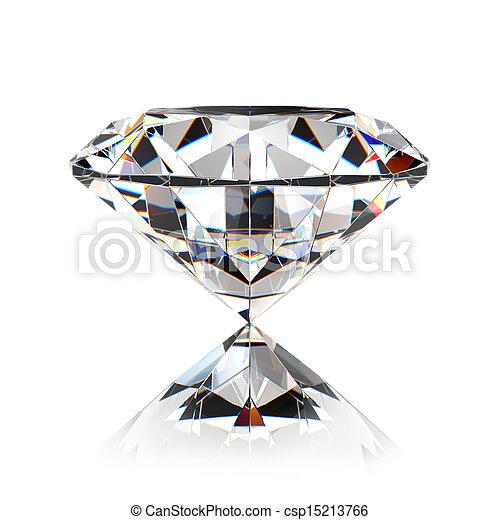 ダイヤモンド, 宝石 - csp15213766