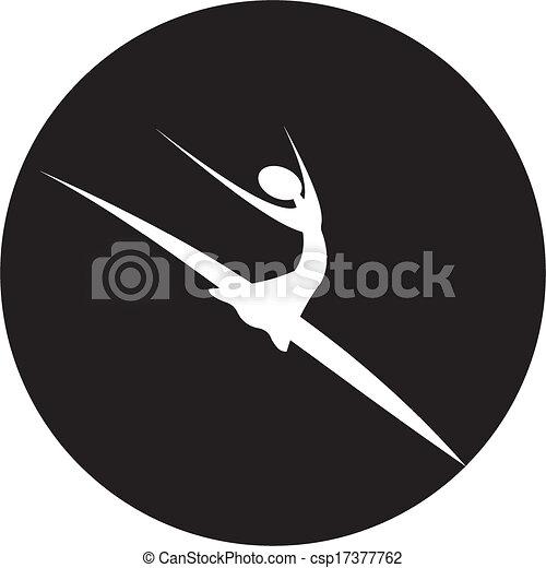 ダンサー, アイコン - csp17377762