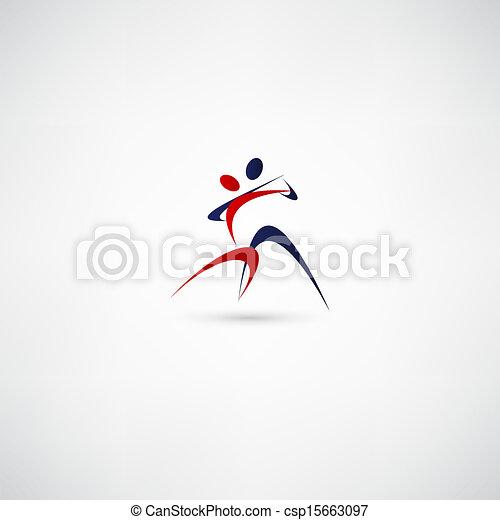 ダンサー, アイコン - csp15663097