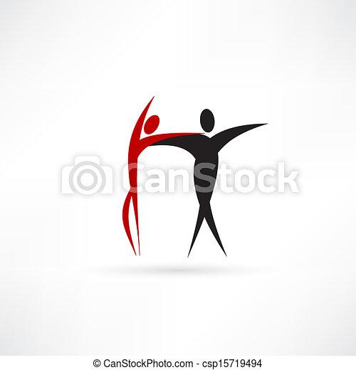 ダンサー, アイコン - csp15719494
