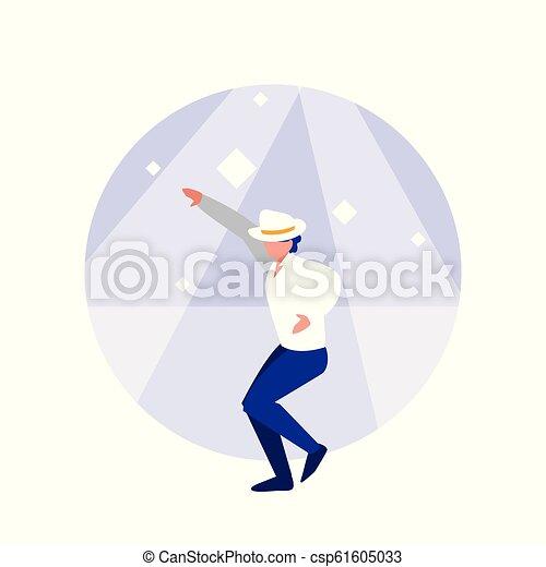 ダンサー, 特徴, avatar, 人, ディスコ - csp61605033