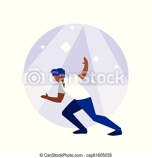 ダンサー, 特徴, avatar, 人, ディスコ - csp61605035