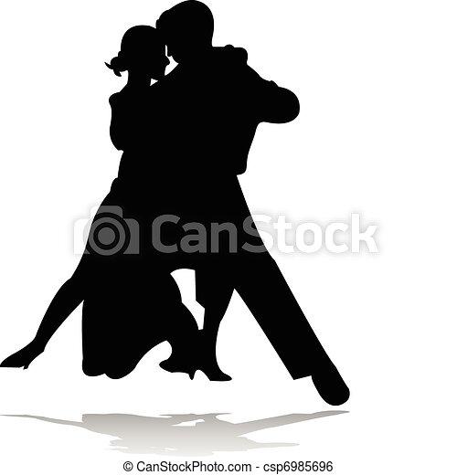 ダンス, シルエット - csp6985696