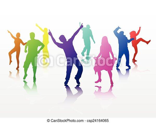 ダンス, 人々 - csp24164065