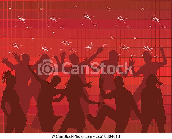 ダンス, 人々 - csp18804613