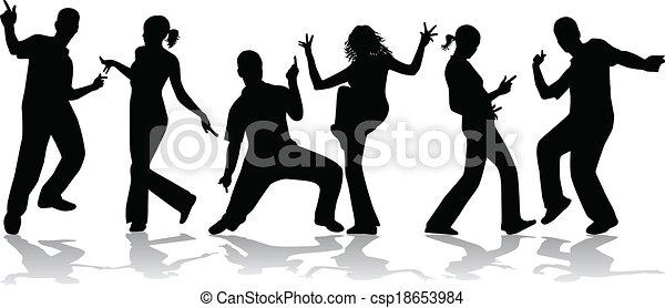 ダンス, 人々 - csp18653984