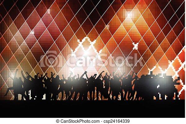 ダンス, 人々 - csp24164339