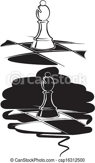 チェス, 司教 - csp16312500