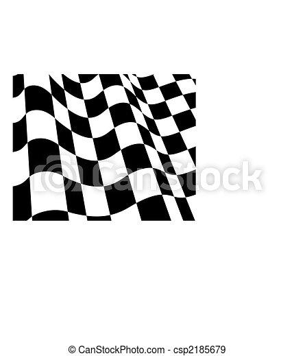 チェックされた, 旗 - csp2185679