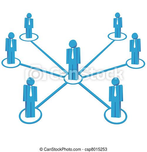 チームワーク, ビジネス 概念 - csp8015253