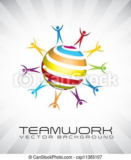 チームワーク - csp11385107