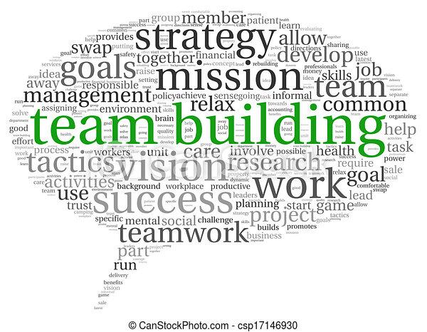 チームワーク, 概念, 単語, 雲, タグ - csp17146930