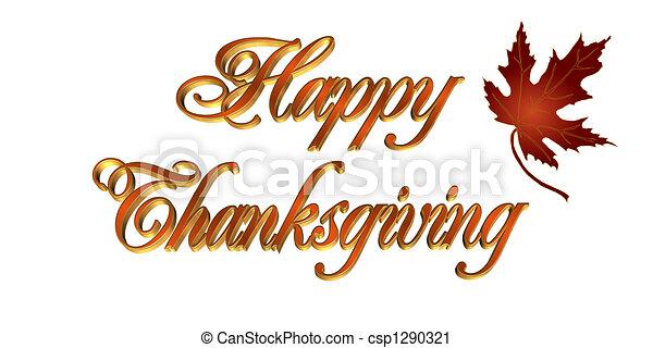 テキスト, 挨拶, 感謝祭, カード, 3d - csp1290321