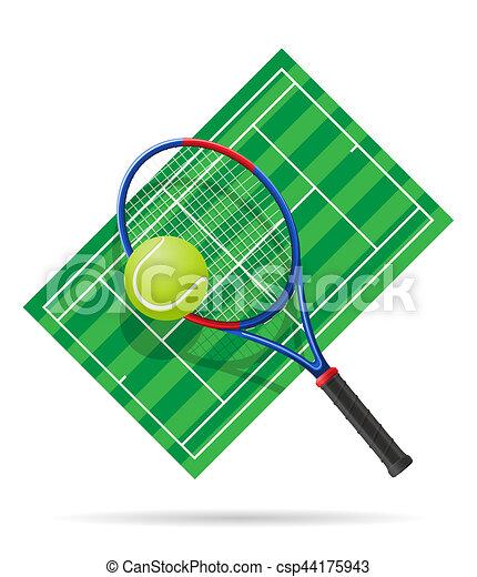テニスコート イラスト 法廷 テニス 隔離された イラスト 背景 白