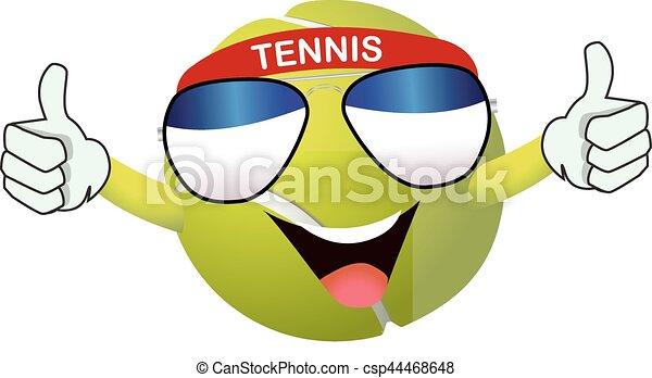 テニスボール - csp44468648