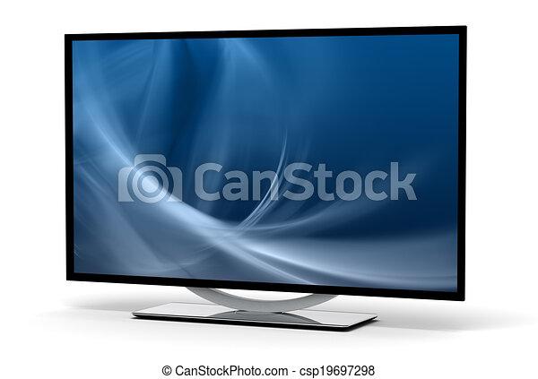 テレビ, high-definition - csp19697298
