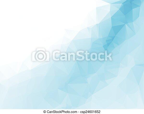 テンプレート, ビジネス 実例, polygonal, 背景, ベクトル, デザイン, モザイク - csp24601652