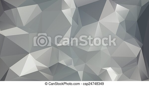 テンプレート, 灰色, ベクトル, ビジネス 実例, 色, polygonal, 背景, デザイン, モザイク - csp24748349