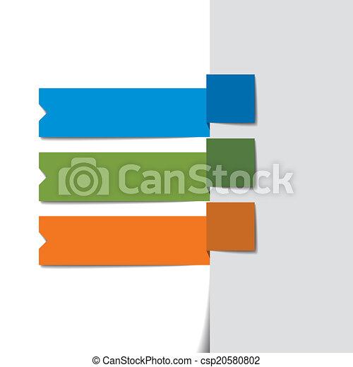 テンプレート, infographics - csp20580802