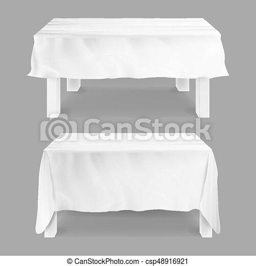 テーブル クロス 白