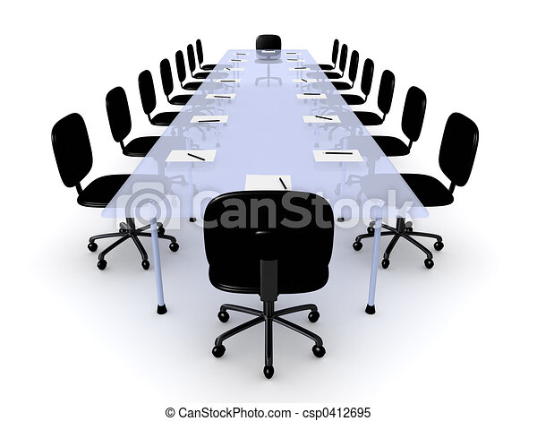 テーブル, 会議 - csp0412695