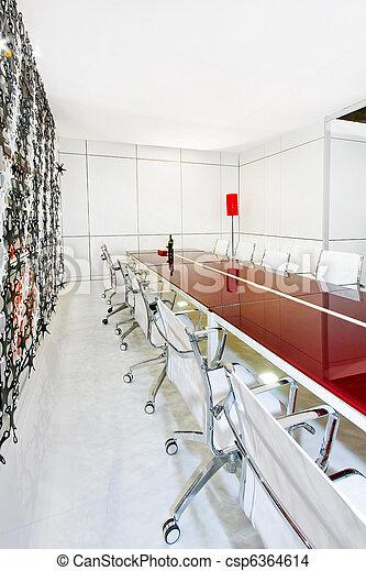 テーブル, 会議 - csp6364614