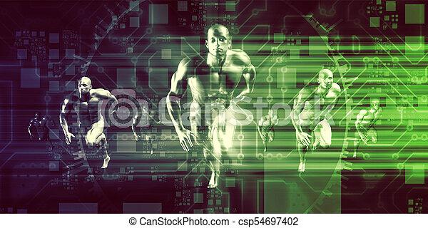 デジタル, マーケティング - csp54697402