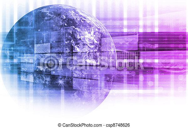 データ, 分析 - csp8748626