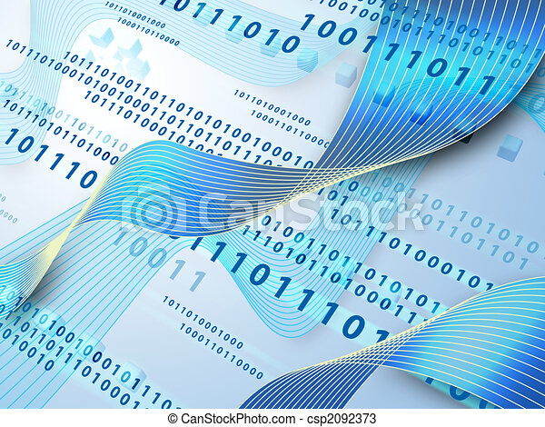 データ, 流れ - csp2092373