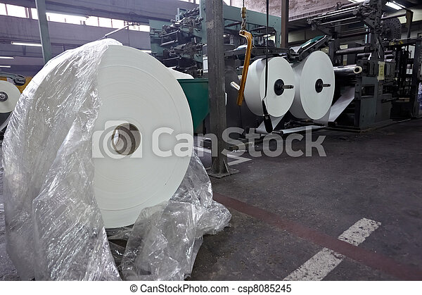 トイレ, 産業, ペーパー, 組織, 製造 - csp8085245