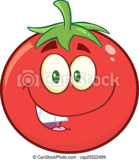 トマト, 微笑, 特徴 - csp25522499
