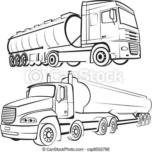 トラック輸送 - csp9502768